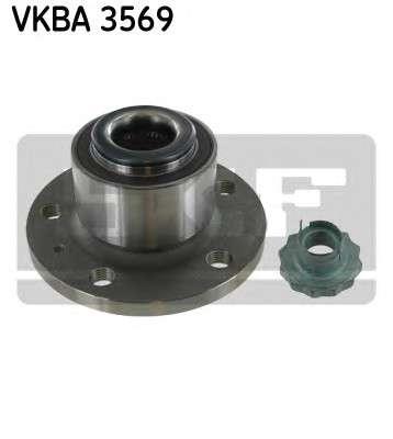 Запчасть VKBA 3569 SKF Підшипник колеса,комплект фото