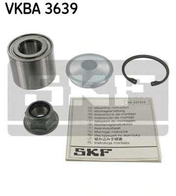 Запчасть VKBA3639 SKF Підшипник колеса,комплект фото