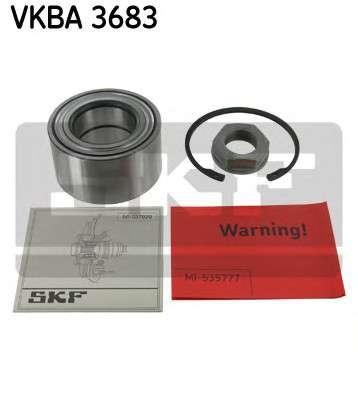 Запчасть VKBA3683 SKF Підшипник колеса,комплект фото