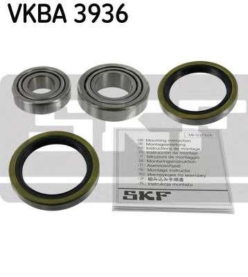 Запчасть VKBA 3936 SKF Комплект підшипника маточини колеса фото