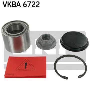 Запчасть VKBA 6722 SKF Комплект подшипника ступицы колеса фото