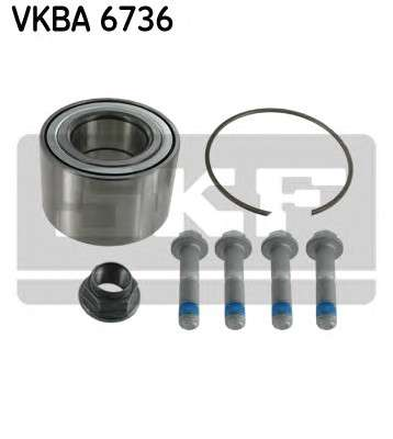 Запчасть VKBA 6736 SKF Підшипник кульковий d>30 фото
