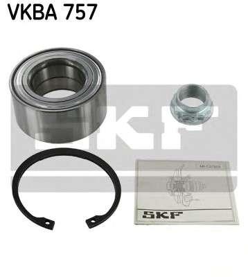 Запчасть VKBA757 SKF Підшипник колеса,комплект фото