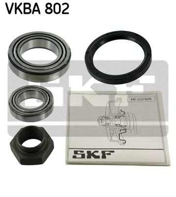 Запчасть VKBA802 SKF Підшипник колеса,комплект фото