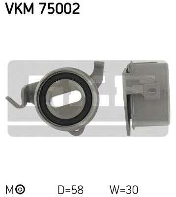 Запчасть VKM 75002 SKF Натяжной ролик, ремень ГРМ  (пр-во SKF) фото