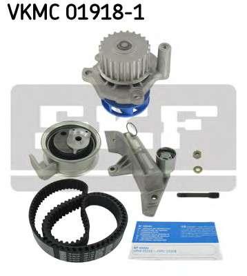 Запчасть VKMC 01918-1 SKF Водяной насос + комплект зубчатого ремня фото