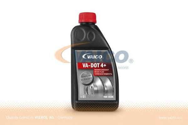 Запчасть V60-0236 VAICO Гальмівна рідина DOT4 PLUS class SL6 (+ESP) 1L фото