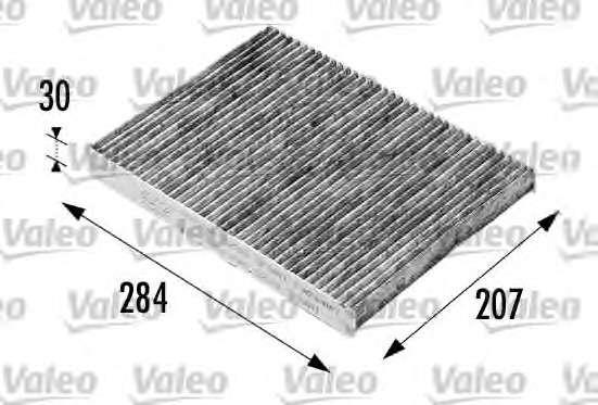 Запчасть 698716 VALEO Фільтр салону вугільний фото
