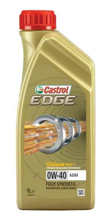 Масло моторное синтетическое Castrol EDGE A3/B4 TITANIUM FST 0W-40, 1л украина